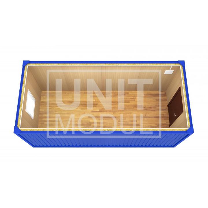 (БК-01) Бытовка металлическая (блок-контейнер) стандарт