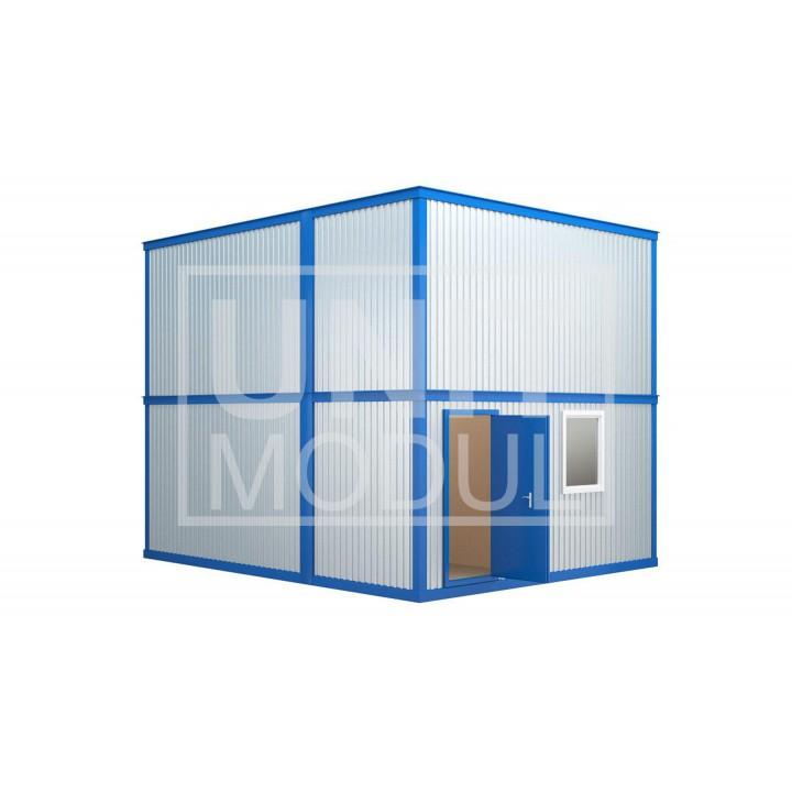 (МЗ-02) Модульное здание из шести блок-контейнеров