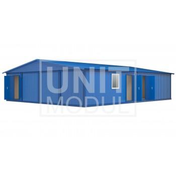 (МЗ-06) Модульное здание из восьми блок-контейнеров