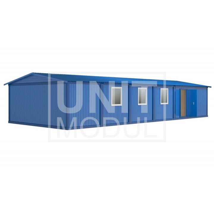 (МЗ-04) Модульное здание из шести блок-контейнеров одноэтажное недорого