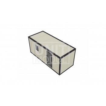 (СП-01) Бытовка металлическая (блок-контейнер) из сэндвич-панелей стандарт