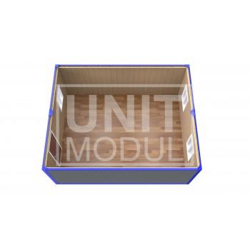 (ПЗ-10) Модульный штаб из 2-х бытовок (блок-контейнеров)