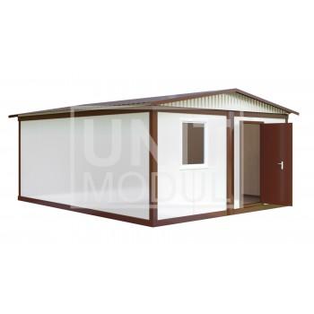 (МС-01) Модульное здание из двух блок-контейнеров (сэндвич-панели)
