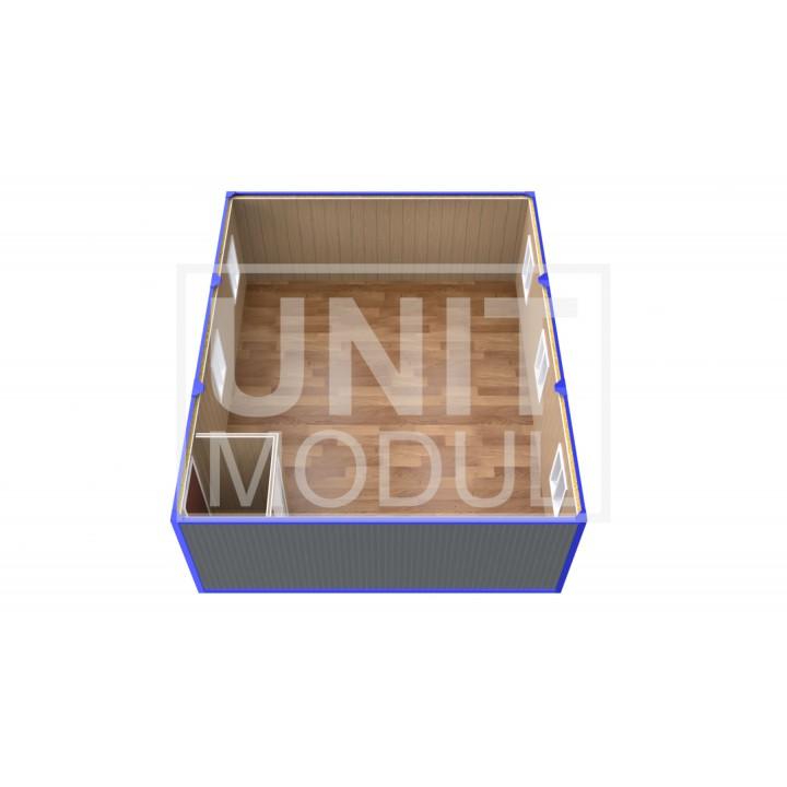 (ПЗ-30) Модульный штаб из трех бытовок (блок-контейнеров)