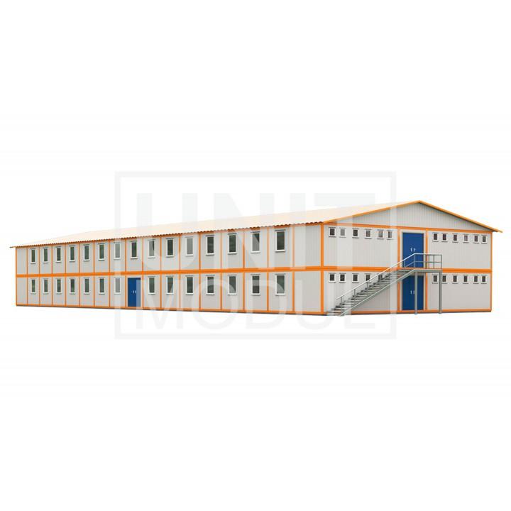 (МС-11) Модульное общежитие (сэндвич-панели)
