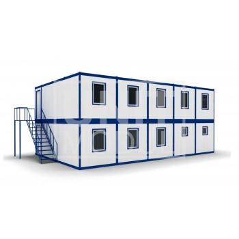 (МЗ-07) Модульное здание из десяти блок-контейнеров