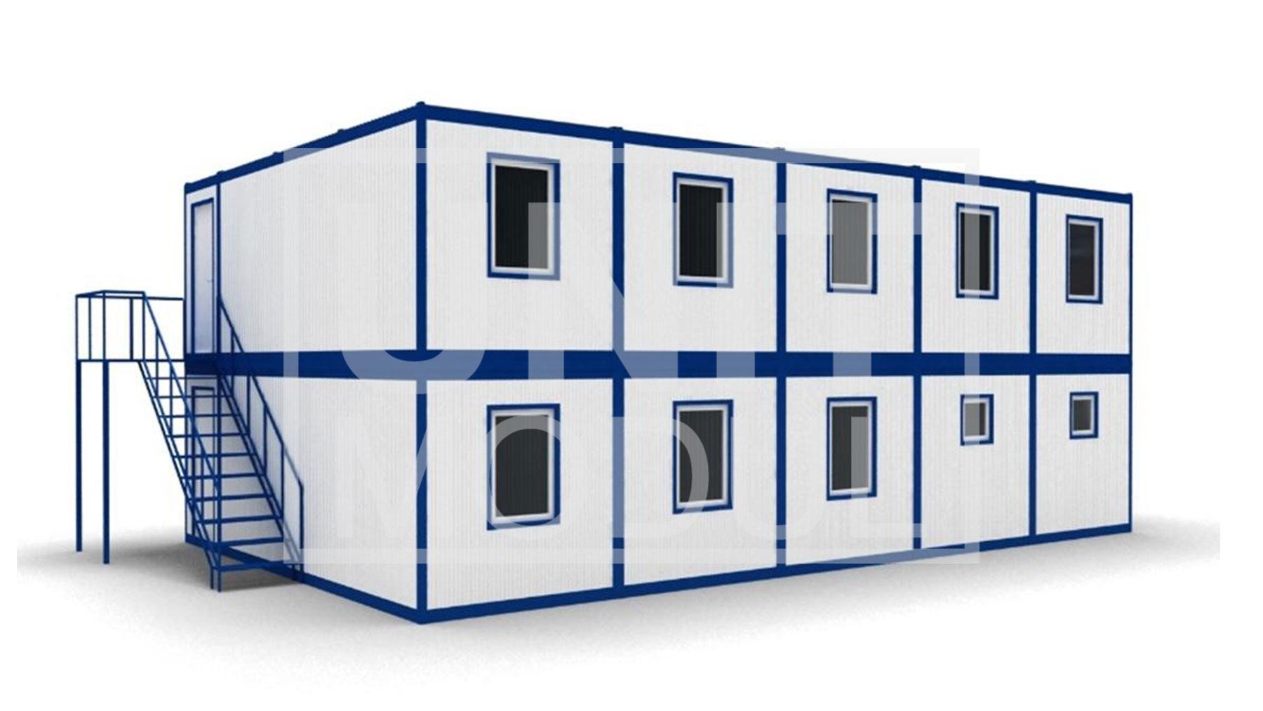 Модульные здания из блок контейнеров фото